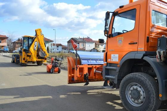 Фото: Нова опрема за поквалитетни комунални услуги за граѓаните на општина Илинден