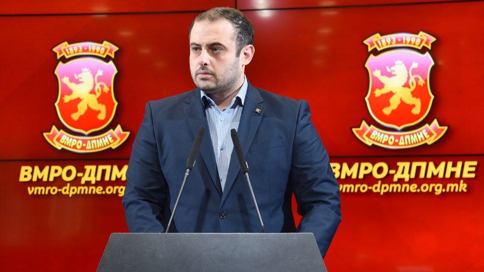 Ѓорѓиевски: Законот за двојазичност кој СДСМ насилно го турка е штетен за државата, ВМРО-ДПМНЕ ќе поднесе амандмани за усогласување на Законот со Уставот