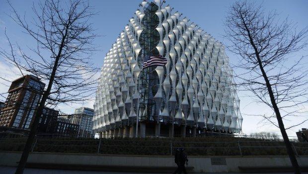 Отворена најскапата зграда која САД ја направиле некогаш: Трамп не сакал да дојде во амбасадата која чини милијарда евра (ФОТО+ВИДЕО)