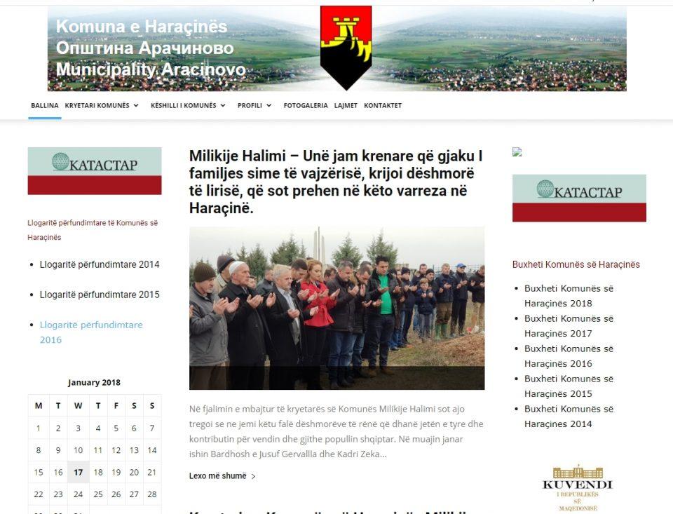 Во општините каде што мнозинство се Албанците официјален јазик е само албанскиот