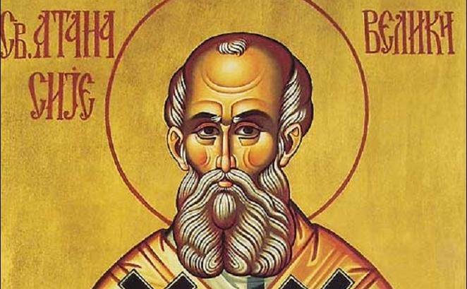Денес се слави Свети Атанасиј Велики кој поради верата во Господ речиси сиот живот беше гонет