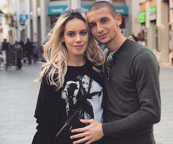 Давид Бабунски ќе стане татко