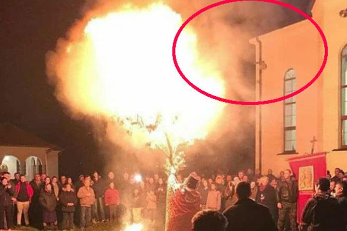 Фотографија направена на бадников оган предизвика зачуденост на Балканот (ФОТО)