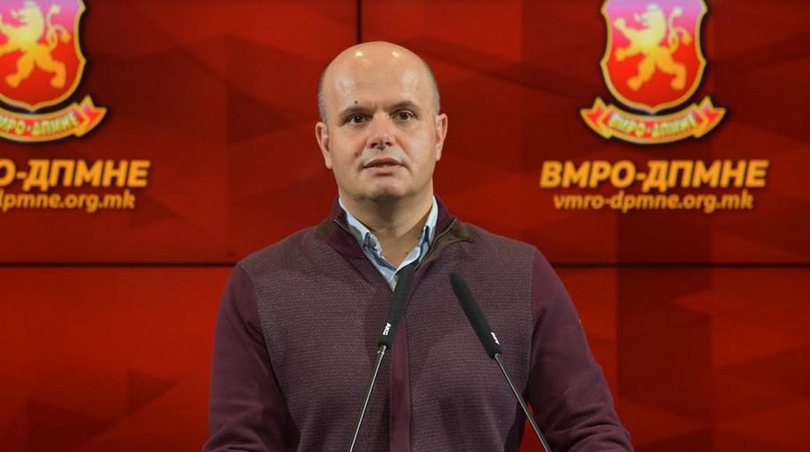 Данев: Во договорот со Бугарија, Македонија е оштетена- СДСМ сам го негира постоењето на македонскиот јазик