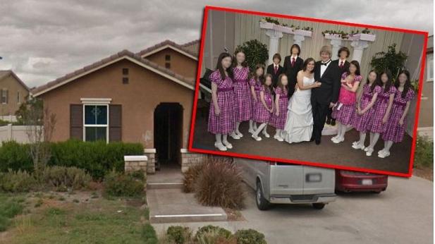Хорор го потресе светот: Овие родители ги држеле своите 12 деца врзани за синџири и изгладнети (ФОТО)