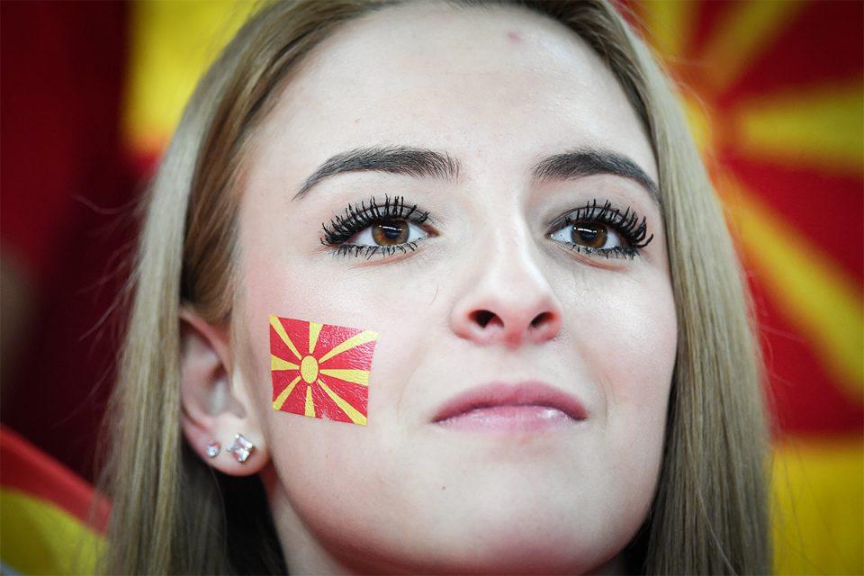 ФОТО: Македонска убавина на трибините во загрепска Арена