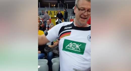 """Навивачи на """"Германија"""" ја поздравија Македонија со """"Излези момче"""" (ВИДЕО)"""