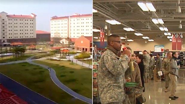 Најголемата американска воена база буквално стана град: Вреди 11 милијарди долари (ФОТО+ВИДЕО)