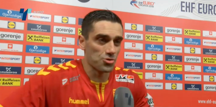 Капитенот Лазаров: Фановите беа клучни за победата, се чувствувавме како да играме во Македонија