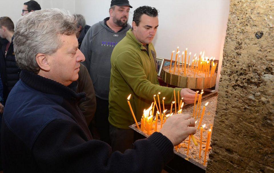 Иванов присуствуваше на одбележувањето на христијанскиот празник Св. Атанасиј Велики во Тетово
