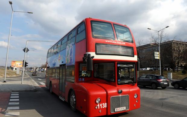 Автобусите во петок ќе сообраќаат по неделен летен возен ред