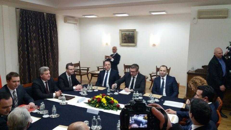 Се уште трае координацијата на државно- политичкиот врв за предлозите на Нимиц