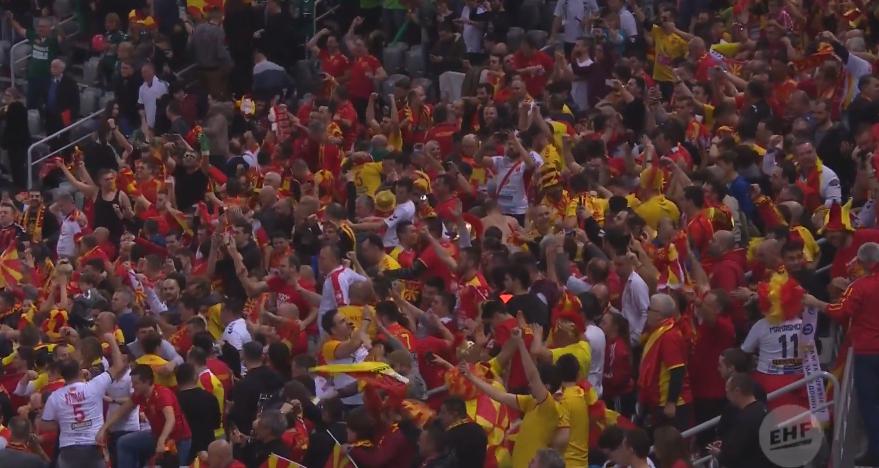Најдобрите моменти од вчерашниот натпревар: Како ЕХФ ја виде големата победа на Македонија против Словенија (ВИДЕО)