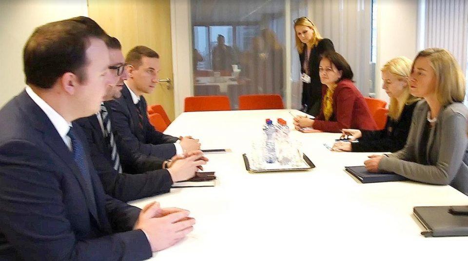 Мицкоски: На состаноците во Брисел лобиравме за Македонија, засега од Владата имаме само слово на хартија без суштински реформи
