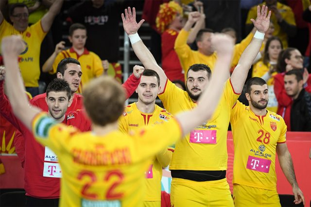 Македонија со јубилеен 700. погодок на Европско првенство
