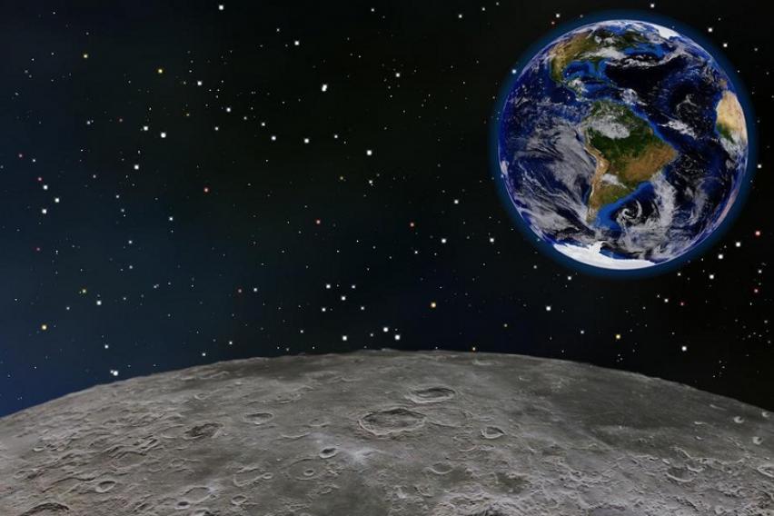 Големо откритие на НАСА: На Месечината е пронајдена мрежа на тунели!