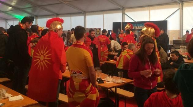 """ВИДЕО: Вараждин """"гори"""", Фалангата се подготвува за Шпанија"""