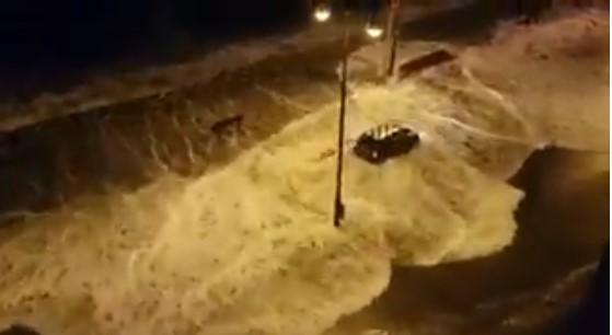 ВИДЕО: Бурата Елеанор ја погоди Белгија, жителите не паметат посилно невреме