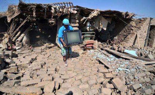 Силен земјотрес: 2 лица загинаа, 65 повредени, над 17 исчезнати (ФОТО)