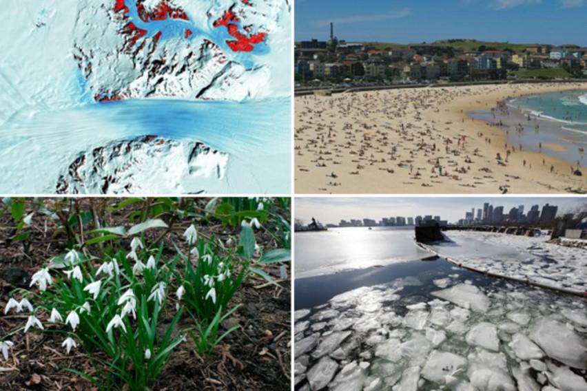 Америка замрзната, Австралија гори, во Сахара снег, кај нас пролет: Што се случува со нашата планета?