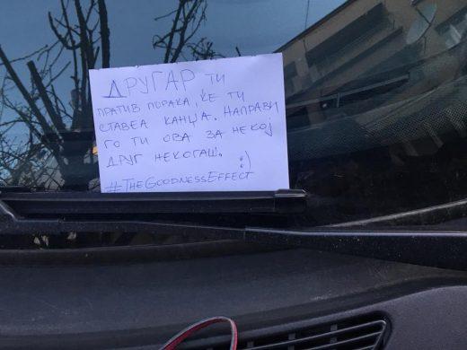 """Хуманост на дело во Скопје: Ти пратив порака, ќе ти ставеа """"канџа"""" (ФОТО)"""