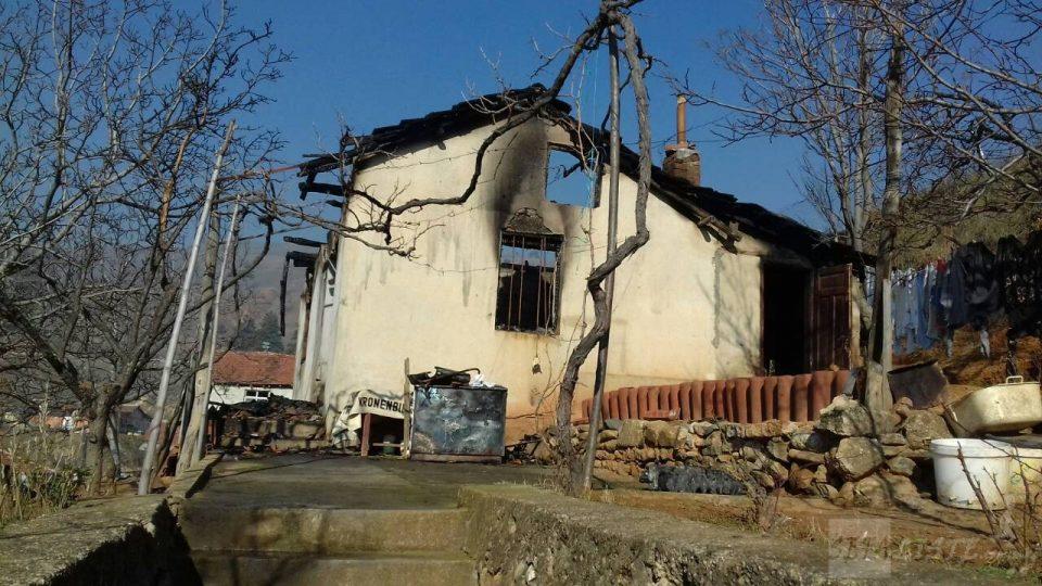 ФОТО: Во оваа куќа изгореа мајка и син, трагедија која ја потресе Битола