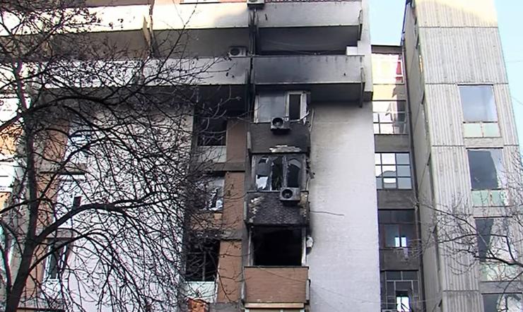 Детали за пожарот во Центар: Го запалил станот па нападнал полицаец- заврши во Бардовци