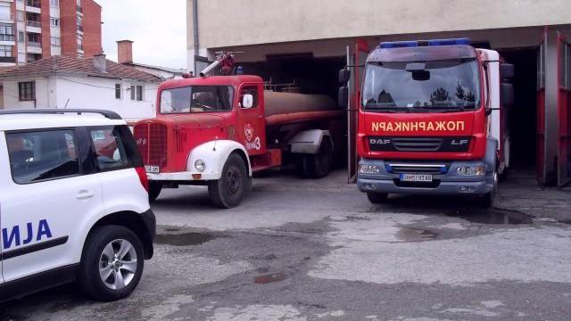 За Божиќ гореше зградата на кумановската полиција