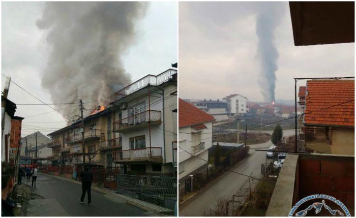 Страшен пожар во Прилеп: Гореа две куќи, семејствата молат за помош