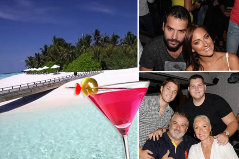 Луксуз од чија цена ќе ви се заврти во главата: Пријовиќ и Живојиновиќ уживаат на Малдиви (ФОТО)