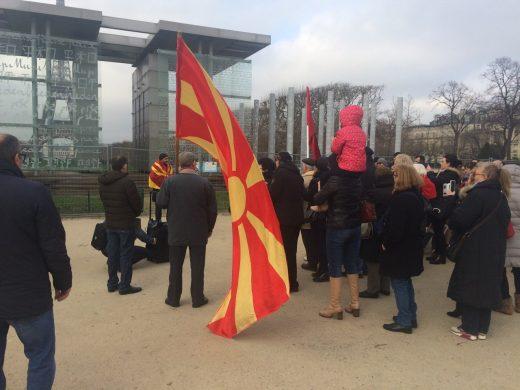 Македонците од Париз и Берлин саботата ѝ ја посветија на Македонија: Стопирање на преговорите за името, НЕ за двојазичност (ВИДЕО)