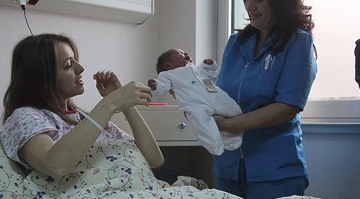 ФОТО: Ова е Теодора, првото бебе во 2018-та