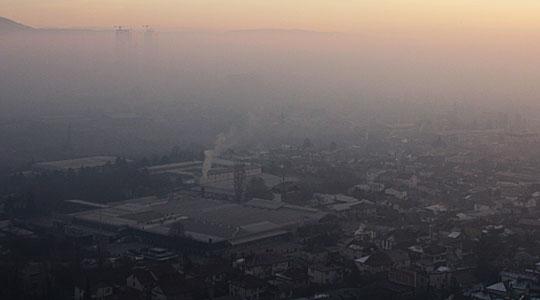 """Никако да се симнеме од """"топ 5"""": Скопје утрово четврти најзагаден град во светот"""
