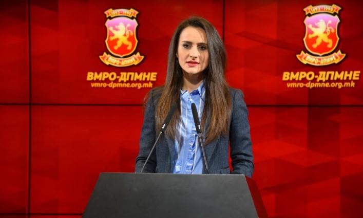Алексовска: СДСМ наместо да работи за да го подобри стандардот на граѓаните, повторно им удри по џебот