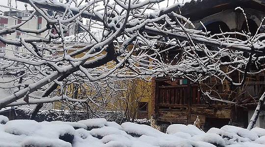 Снег во кривопаланечко, фрлени 10 тони сол и ризла