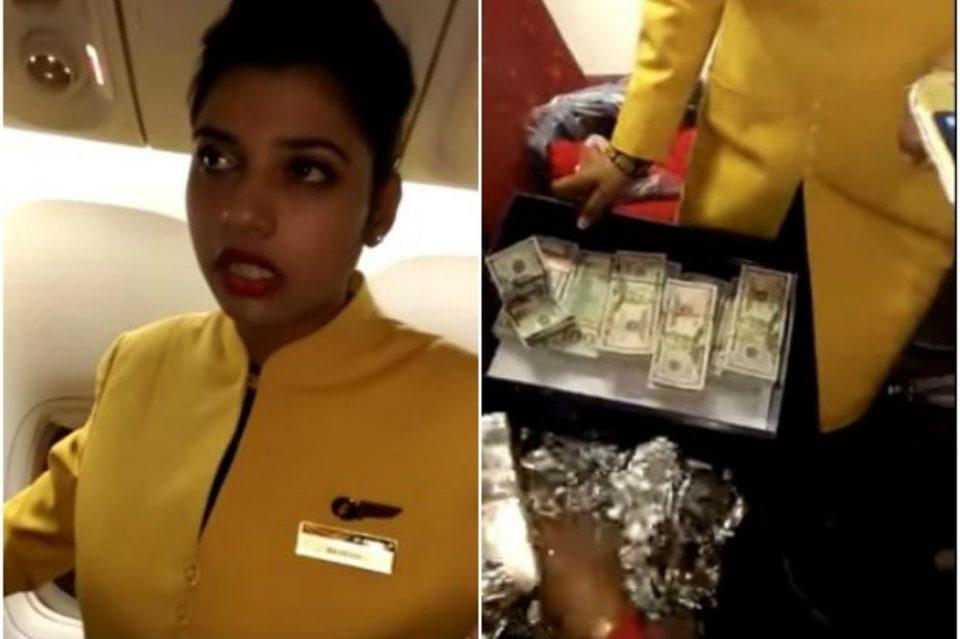 Стјуардеса ја фатиле со половина милион долари: Пробала да се извади, но многу брзо вистината излегла на виделина (ВИДЕО)