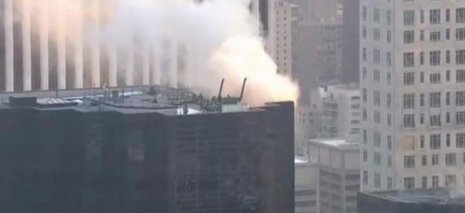 ВИДЕО: Детали за пожарот во Кулата Трамп, има и повредени