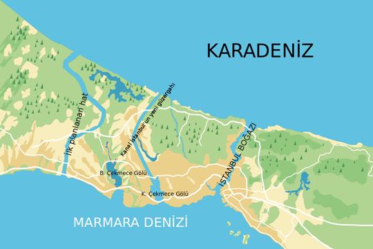 Турција планира нов канал кај Босфорот вреден над 14 милијарди евра