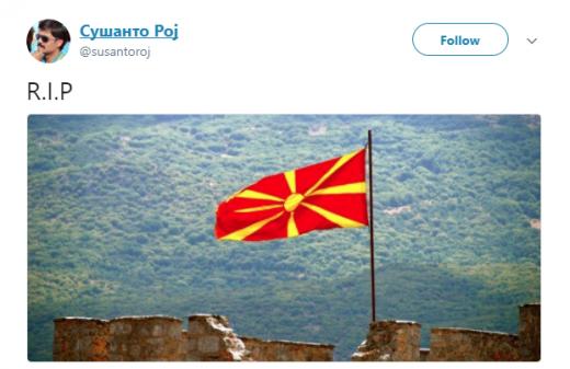 Жестоки реакции на твитер по изгласувањето на Законот за јазици (ФОТО)