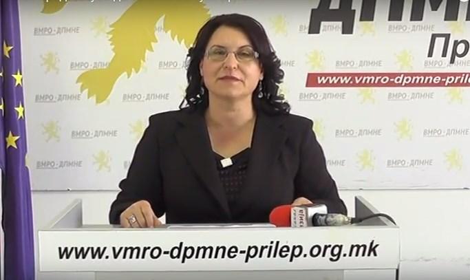 ОК ВМРО-ДПМНЕ Прилеп: Градоначалникот Јованоски продолжува да се кити со туѓи проекти