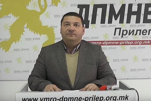 ВМРО-ДПМНЕ ОК Прилеп: Гродоначалникот Јовановски нема намера да изгради театар ниту кој било друг проект кој го ветуваше пред изборите