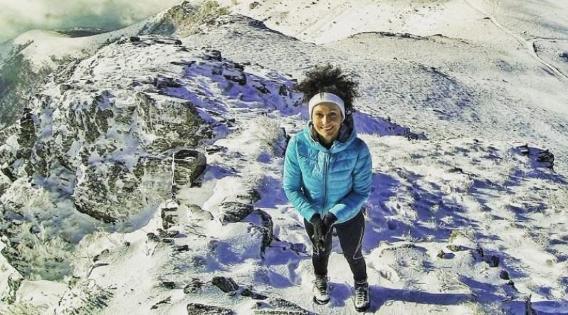 ФОТО: Македонската водителка го искачи највисокиот врв на Балканот