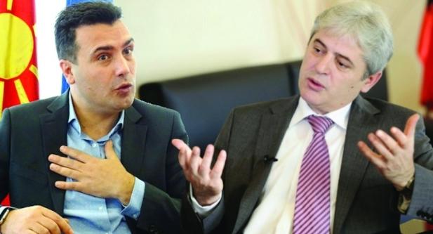 Ахмети спротивно од Заев- тврди дека до Венецијанска комисија не е испратен целиот Закон за јазици
