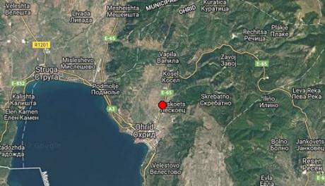 Детали за земјотресот кој ја стресе Македонија на Божиќ