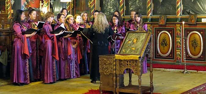 """Традиционален божиќен концерт на хорот """"Св. Злата Мегленска"""""""