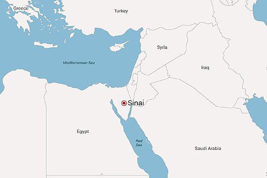 Во Египет убиени 10 екстремисти