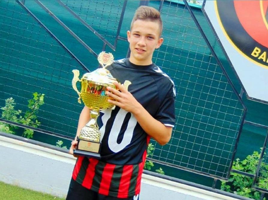 Со ова момче наскоро ќе се гордееме сите: Антонио Мирков е голема надеж за македонскиот фудбал