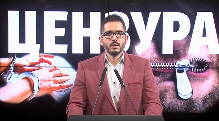 Божиновски: СДСМ ветуваше демократија и слобода за медиумите, а донесе страв и цензура