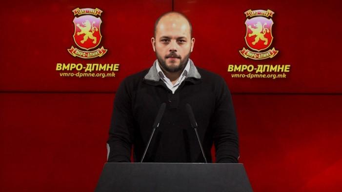 Костовски: СДСМ ги продава македонските интереси