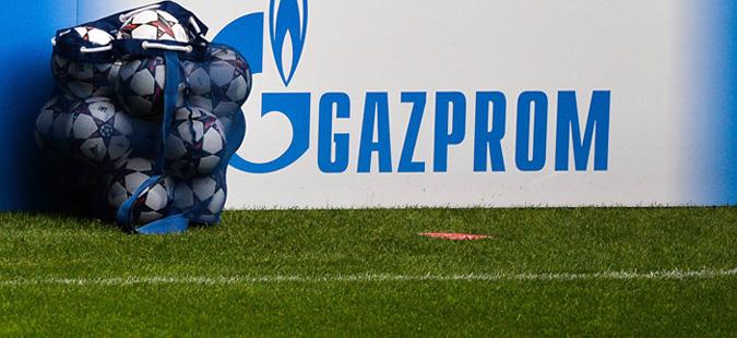 """Газпром"" останува спонзор на Лигата на шампионите"